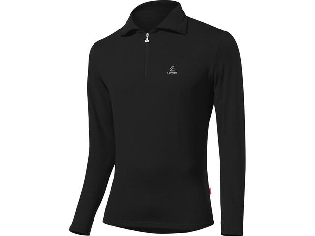 Löffler Basic CF Transtex Sweat-shirt Zip Homme, black